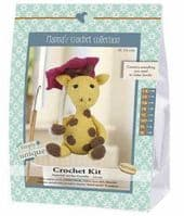 Go Handmade Crochet Kit Gunilla Girafe